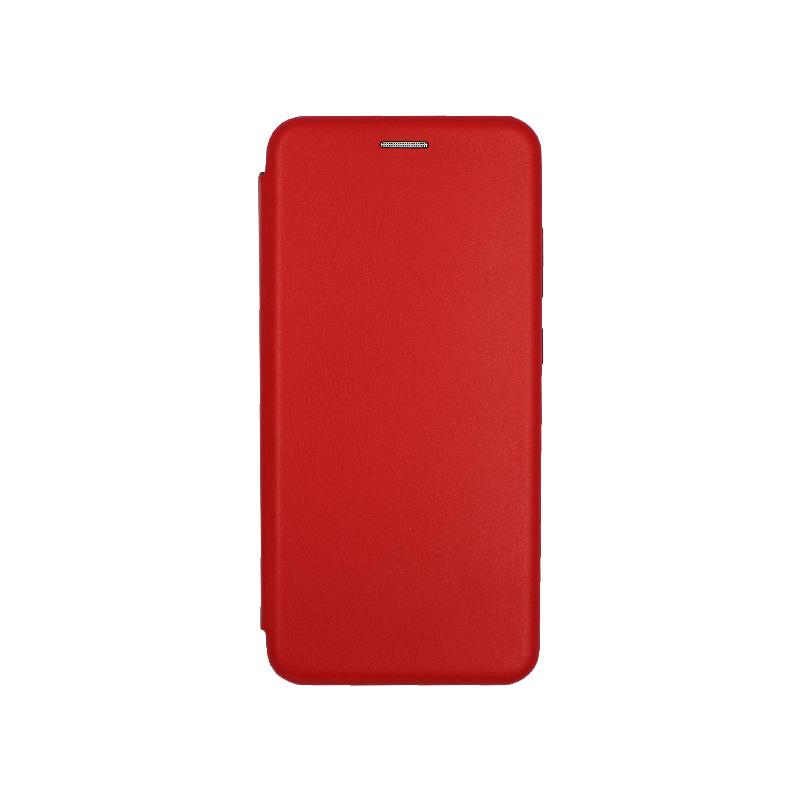 Θήκη Samsung Galaxy S20 Ultra Πορτοφόλι με Μαγνητικό Κλείσιμο κόκκινο 1