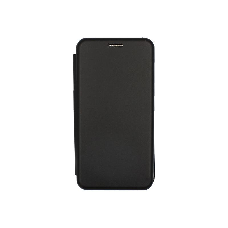Θήκη Huawei Y6 2018 Πορτοφόλι με Μαγνητικό Κλείσιμο μαύρο 1