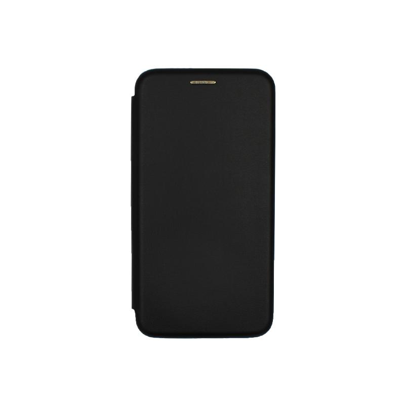 Θήκη Huawei P8 / P9 Lite 2017 Πορτοφόλι με Μαγνητικό Κλείσιμο μαύρο 1