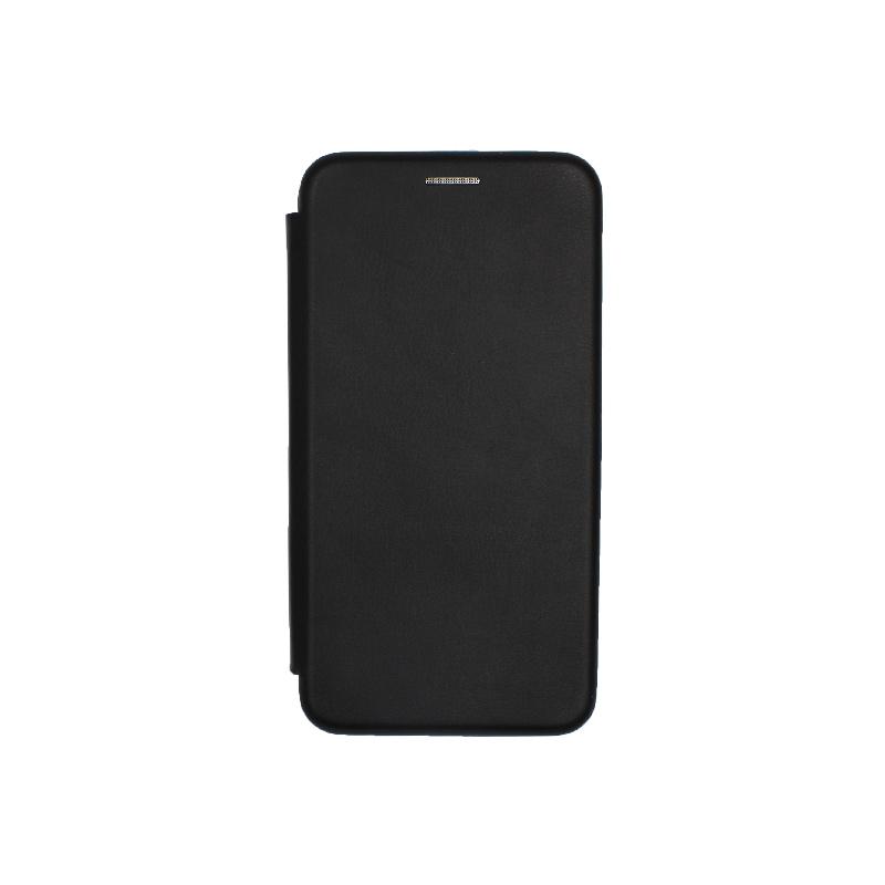 Θήκη Huawei P9 Lite Πορτοφόλι με Μαγνητικό Κλείσιμο μαύρο 1
