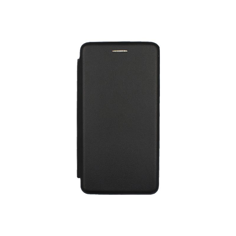 Θήκη Xiaomi Redmi 5A Πορτοφόλι με Μαγνητικό Κλείσιμο μαύρο 1