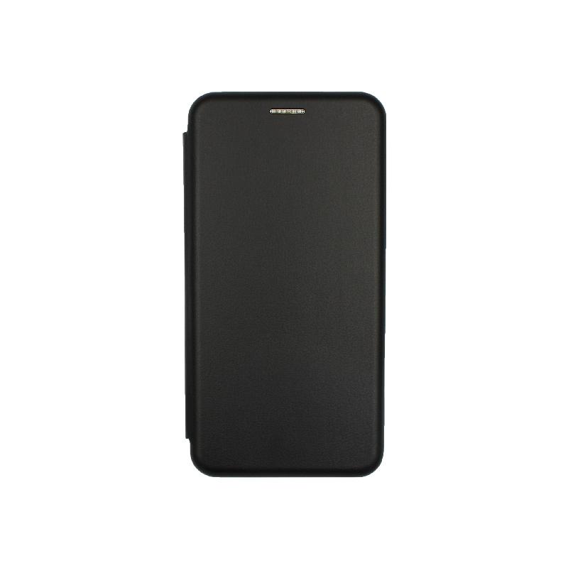 Θήκη Xiaomi Redmi Note 5A Πορτοφόλι με Μαγνητικό κλείσιμο μαύρο 1