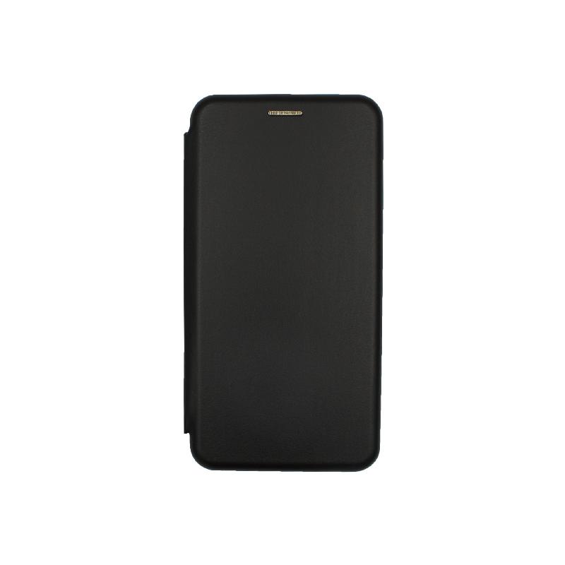 Θήκη Honor 20 / Huawei Nova 5T Πορτοφόλι με Μαγνητικό Κλείσιμο μαύρο 1