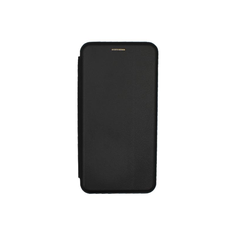 Θήκη Huawei Mate 10 Lite Πορτοφόλι με Μαγνητικό Κλείσιμο μαύρο 1