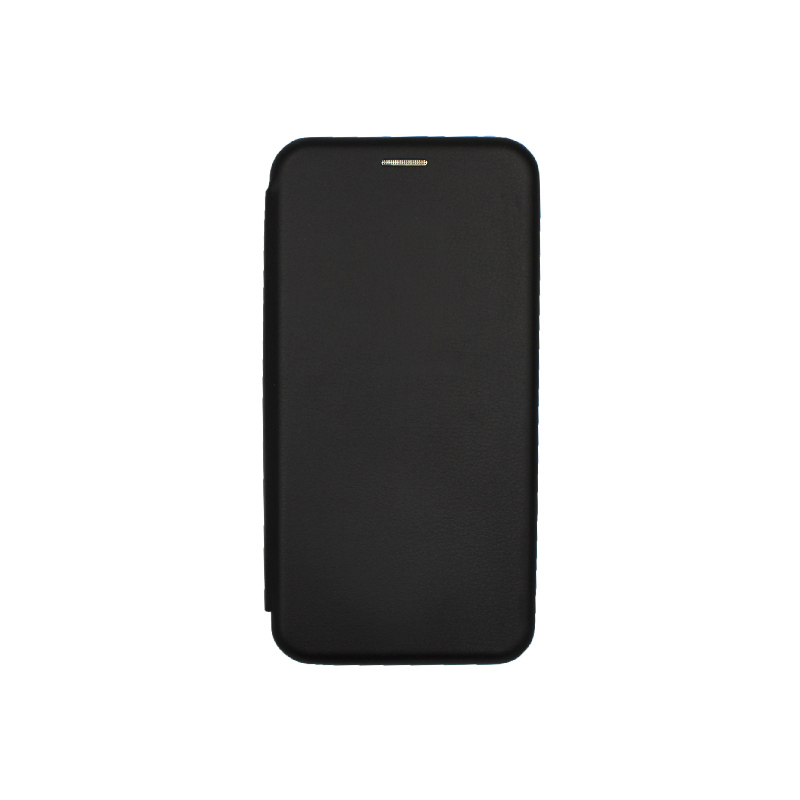 Θήκη Huawei P 40 Lite Πορτοφόλι με Μαγνητικό Κλείσιμο μαύρο 1