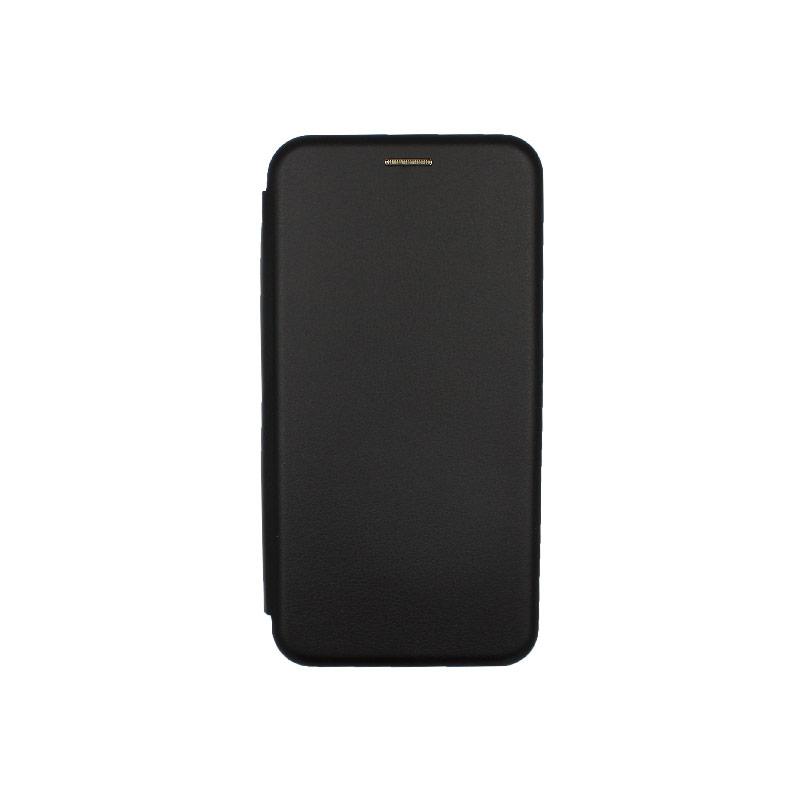 Θήκη Xiaomi Redmi 8 Πορτοφόλι με Μαγνητικό Κλείσιμο μαύρο 1