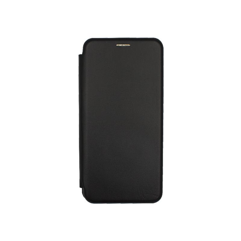 Θήκη Xiaomi Mi 10 / Mi 10 Pro Πορτοφόλι με Μαγνητικό Κλείσιμο μαύρο 1