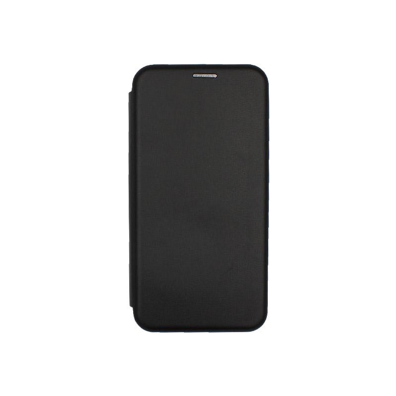 Θήκη Xiaomi Redmi 7 Πορτοφόλι με Μαγνητικό Κλείσιμο μαύρο 1