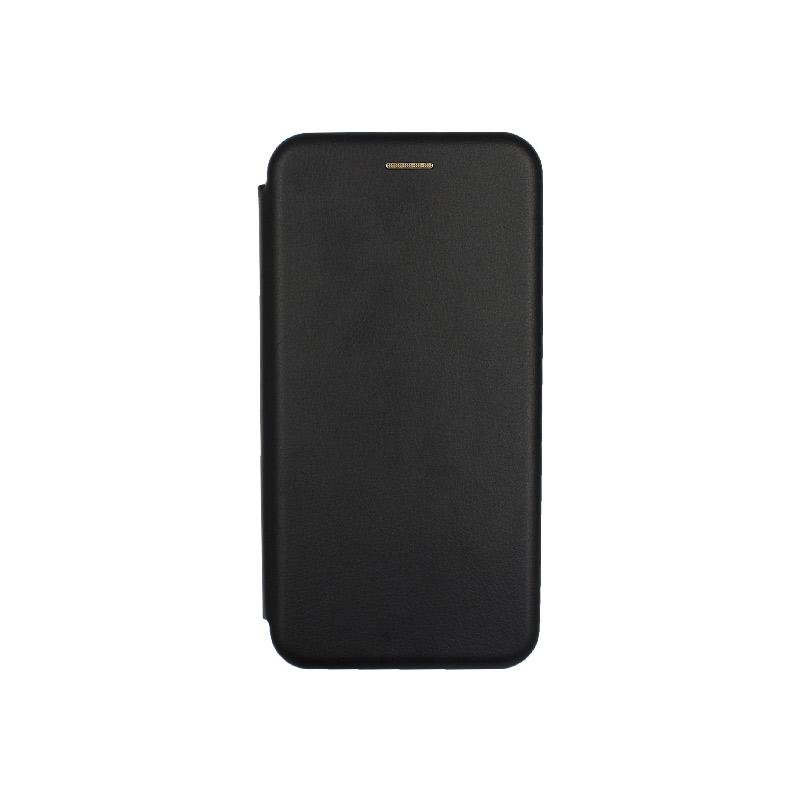 θήκη Xiaomi Mi 8 Lite πορτοφόλι με μαγνήτη μαύρο 1