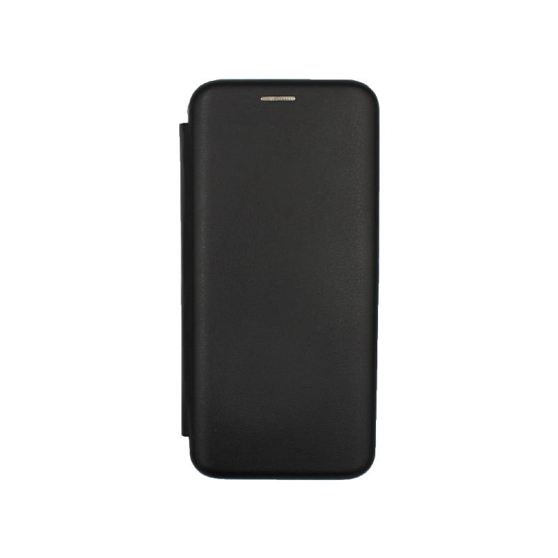 Θήκη Xiaomi Redmi Note 7 / 7 Pro Πορτοφόλι με Μαγνητικό Κλείσιμο μαύρο 1