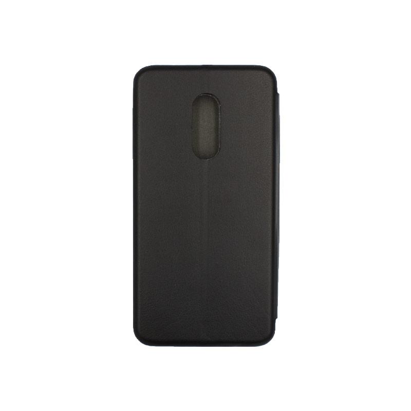 Θήκη Xiaomi Redmi 4 / 4X Πορτοφόλι με Μαγνητικό Κλείσιμο μαύρο 2