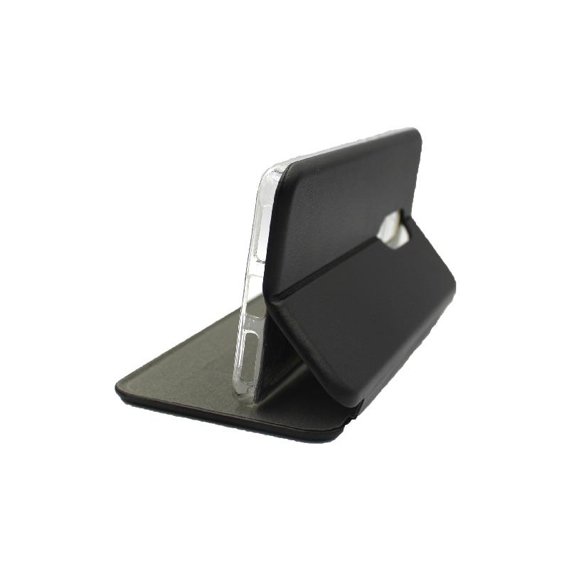Θήκη Xiaomi Redmi 4 / 4X Πορτοφόλι με Μαγνητικό Κλείσιμο μαύρο 4