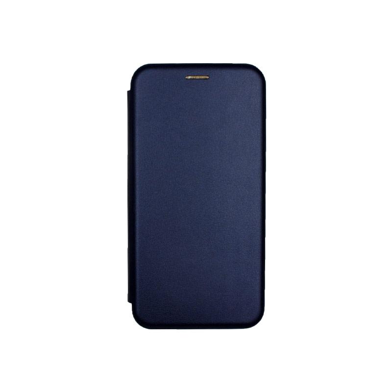 Θήκη Xiaomi Redmi 7 Πορτοφόλι με Μαγνητικό Κλείσιμο μπλε 1