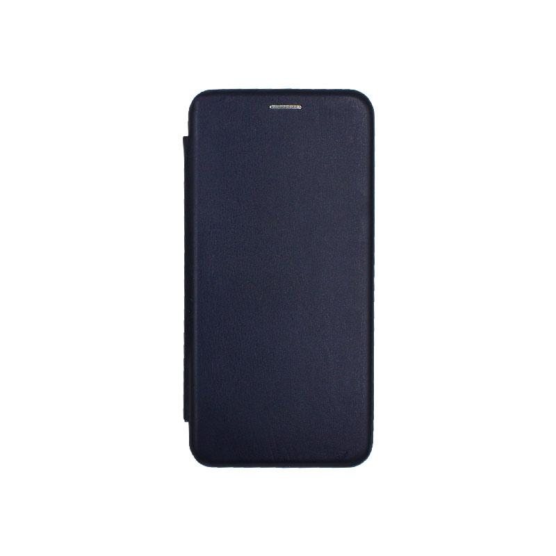 Θήκη Huawei Mate 30 Πορτοφόλι με Μαγνητικό Κλείσιμο μπλε 1