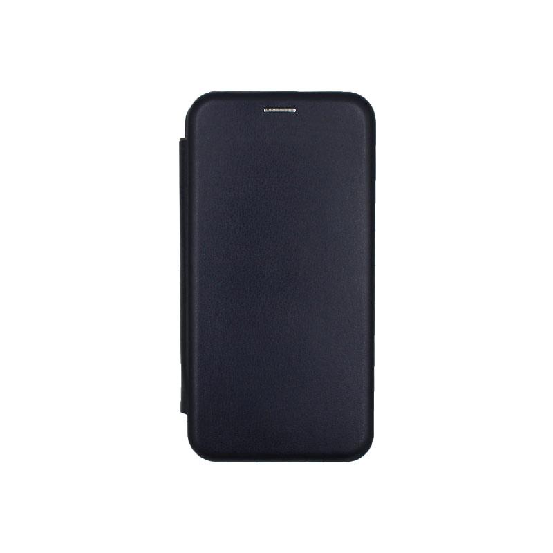 Θήκη Huawei Mate 30 Lite Πορτοφόλι με Μαγνητικό Κλείσιμο μπλε 1