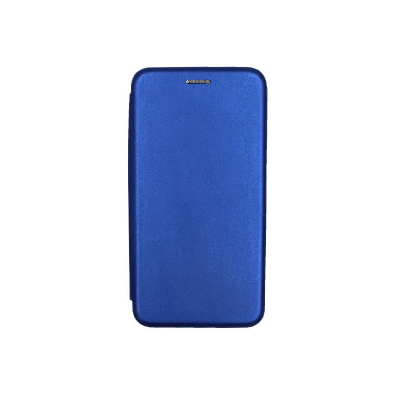 Θήκη Huawei P9 Lite Πορτοφόλι με Μαγνητικό Κλείσιμο μπλε 1