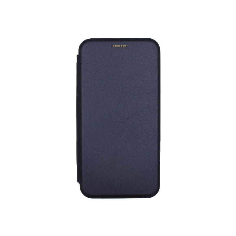 Θήκη Xiaomi Redmi 8 Πορτοφόλι με Μαγνητικό Κλείσιμο μπλε 1