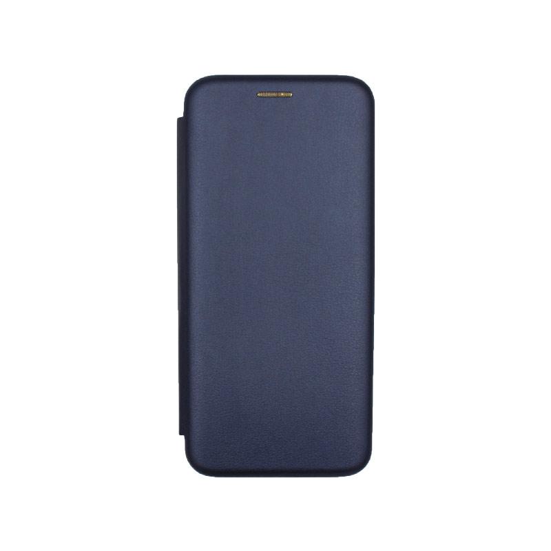 Θήκη Xiaomi Redmi Note 7 / 7 Pro Πορτοφόλι με Μαγνητικό Κλείσιμο μπλε 1