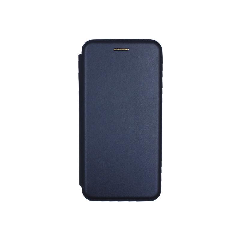 Θήκη Samsung Galaxy S20 Πορτοφόλι με Μαγνητικό Κλείσιμο μπλε 1