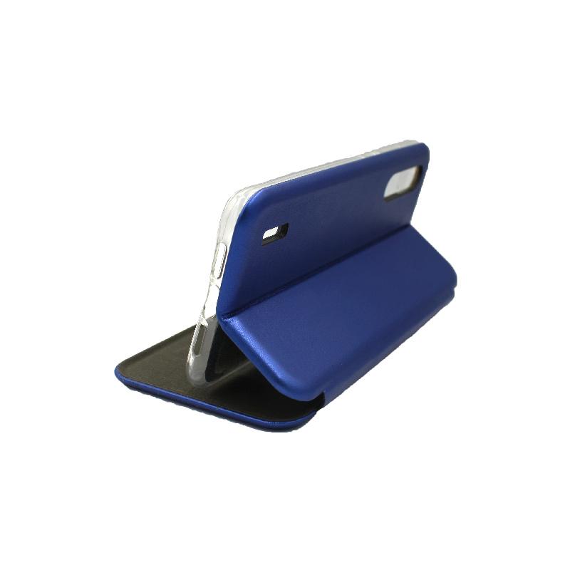 Θήκη Xiaomi Redmi A3 / CC9E Πορτοφόλι με Μαγνητικό Κλείσιμο μπλε 4