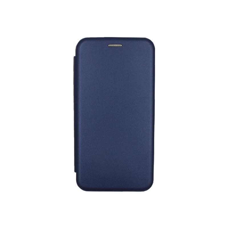 Θήκη Honor 20 / Huawei Nova 5T Πορτοφόλι με Μαγνητικό Κλείσιμο σκούρο σκούρο μπλε 1