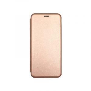 Θήκη Huawei P Smart Z Πορτοφόλι με Μαγνητικό Κλείσιμο ροζ χρυσό 1
