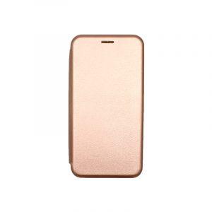 Θήκη Huawei P40 Lite E Πορτοφόλι με Μαγνητικό Κλείσιμο ροζ χρυσό 1