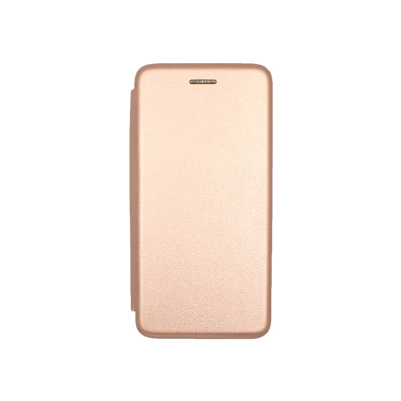 Θήκη Huawei Y5 2019 Πορτοφόλι με Μαγνητικό Κλείσιμο ροζ χρυσό 1