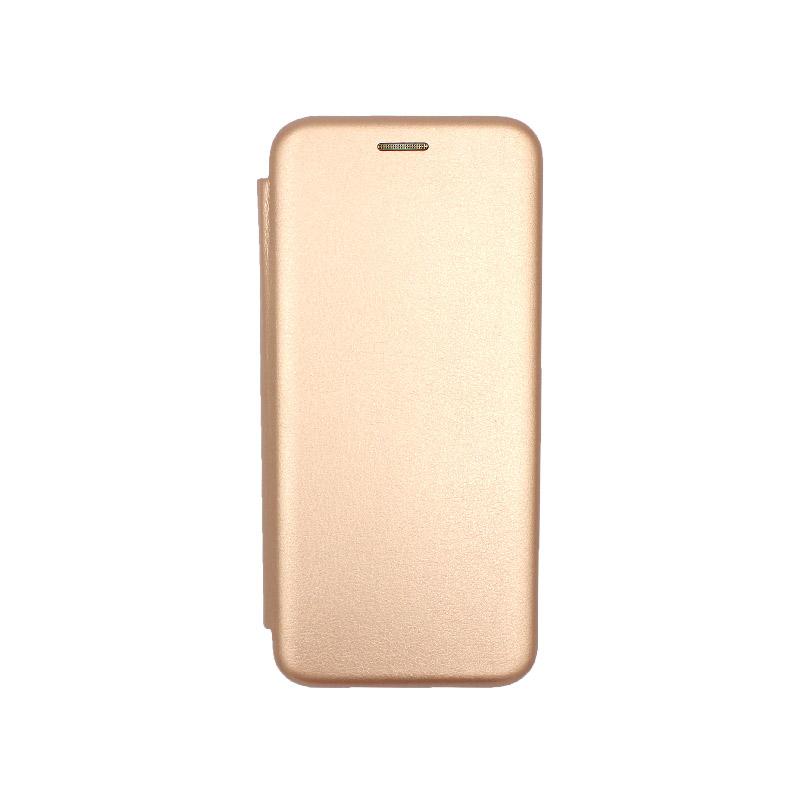 Θήκη Huawei P30 Pro Πορτοφόλι με Μαγνητικό Κλείσιμο ροζ χρυσό 1