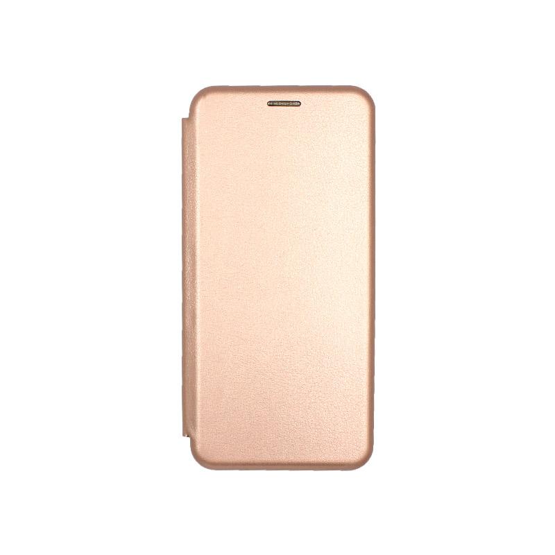 Θήκη Samsung Galaxy S20 Plus Πορτοφόλι με Μαγνητικό Κλείσιμο ροζ χρυσό 1