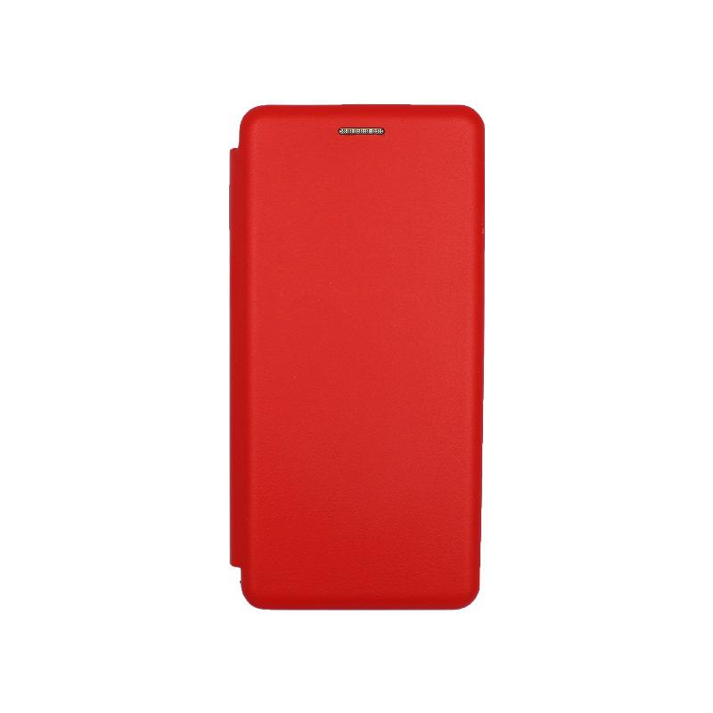 Θήκη Xiaomi Mi Note 10 / Note 10 Pro / CC9 Pro Πορτοφόλι με Μαγνητικό Κλείσιμο κόκκινο 1
