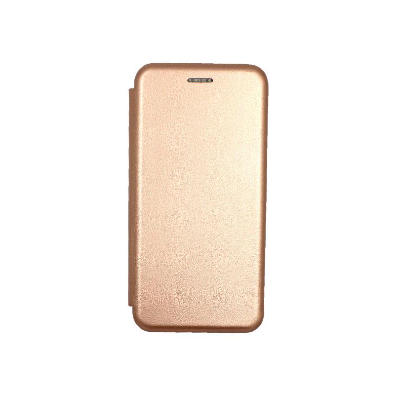 Θήκη Samsung Galaxy S20 Πορτοφόλι με Μαγνητικό Κλείσιμο ροζ χρυσό 1