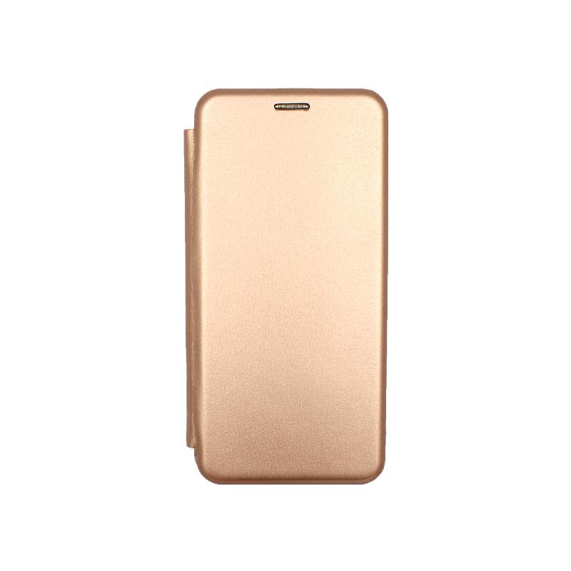 Θήκη Xiaomi Mi 10 / Mi 10 Pro Πορτοφόλι με Μαγνητικό Κλείσιμο ροζ χρυσό 1