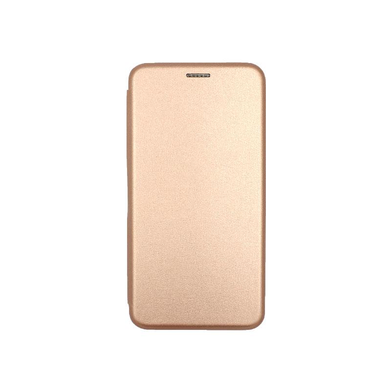 Θήκη Xiaomi Redmi 4 / 4X Πορτοφόλι με Μαγνητικό Κλείσιμο ροζ χρυσό 1