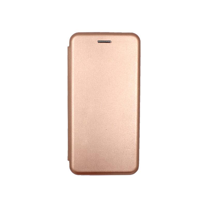 Θήκη Xiaomi A2 Lite Redmi 6X / A2 / Redmi 6 Pro Πορτοφόλι με Μαγνητικό Κλείσιμο ροζ χρυσό 1