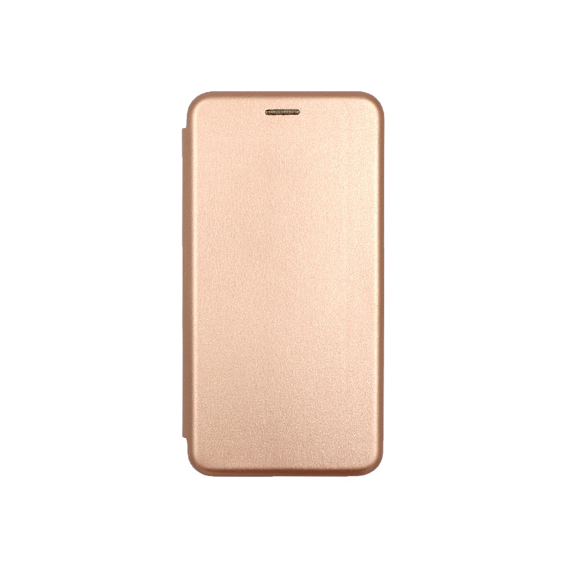 θήκη Xiaomi Mi 8 Lite πορτοφόλι με μαγνήτη ροζ χρυσο 1