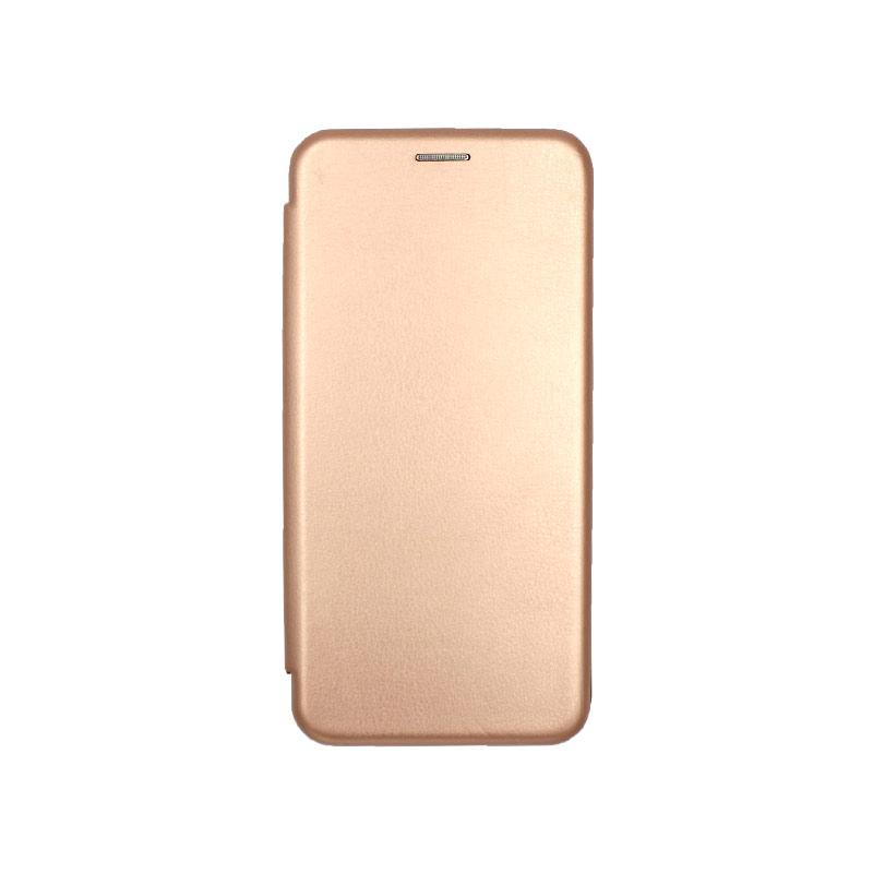 Θήκη Huawei Mate 30 Πορτοφόλι με Μαγνητικό Κλείσιμο χρυσό 1