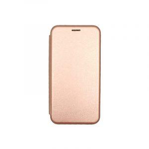 Θήκη Huawei Y7 2019 Πορτοφόλι με Μαγνητικό Κλείσιμο ροζ χρυσό 1
