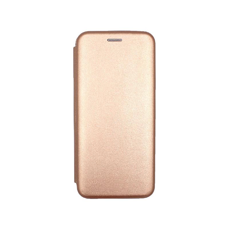 Θήκη Xiaomi Redmi Note 7 / 7 Pro Πορτοφόλι με Μαγνητικό Κλείσιμο ροζ χρυσό 1