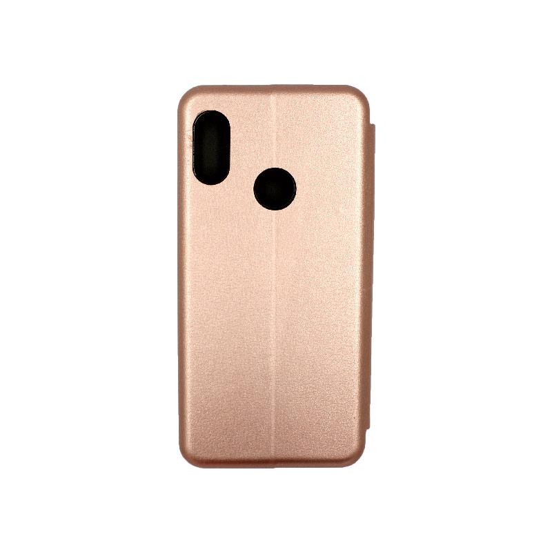 Θήκη Xiaomi Redmi S2 Πορτοφόλι με Μαγνητικό Κλείσιμο ροζ χρυσό 2