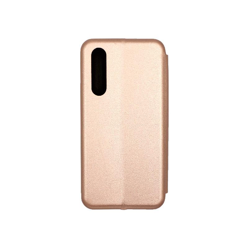 Θήκη Huawei P30 Πορτοφόλι με Μαγνητικό Κλείσιμο ροζ χρυσό 2