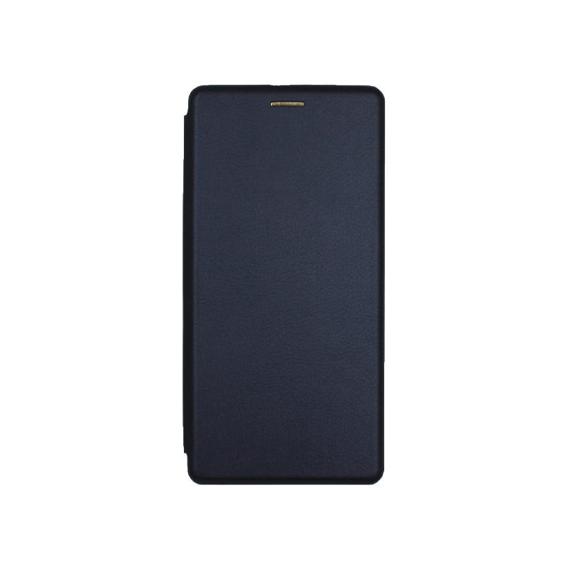 Θήκη Samsung Galaxy S20 Ultra Πορτοφόλι με Μαγνητικό Κλείσιμο μπλε 1