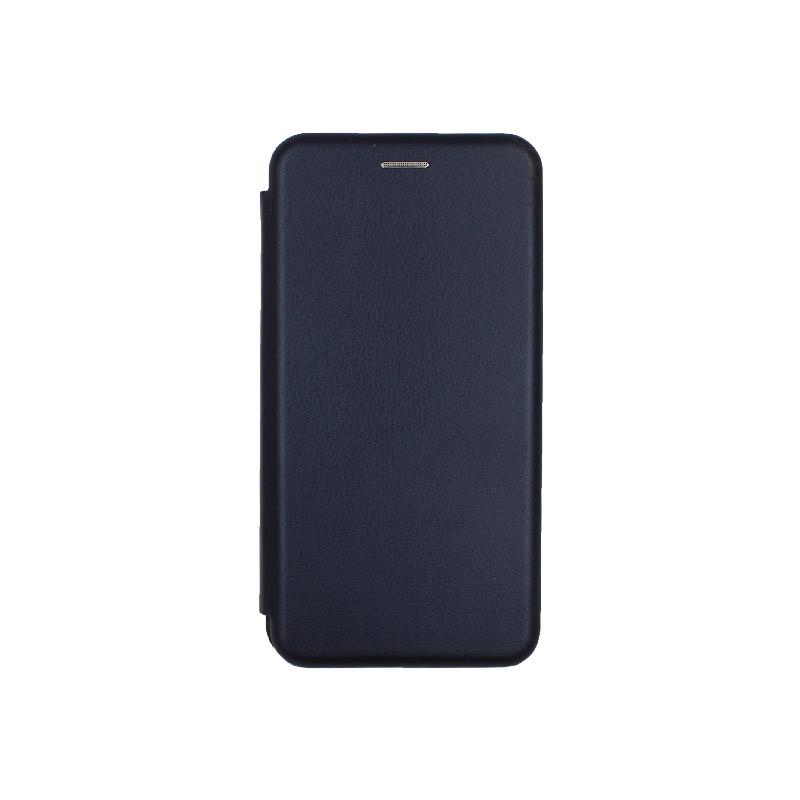 Θήκη Xiaomi Redmi A3 / CC9E Πορτοφόλι με Μαγνητικό Κλείσιμο σκούρο μπλε 1