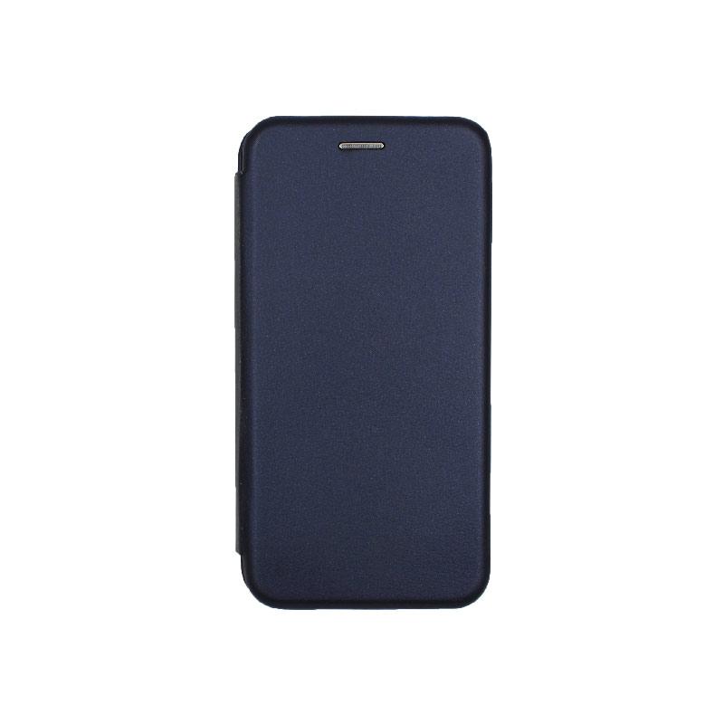 Θήκη Huawei P30 Πορτοφόλι με Μαγνητικό Κλείσιμο σκούρο μπλε 1
