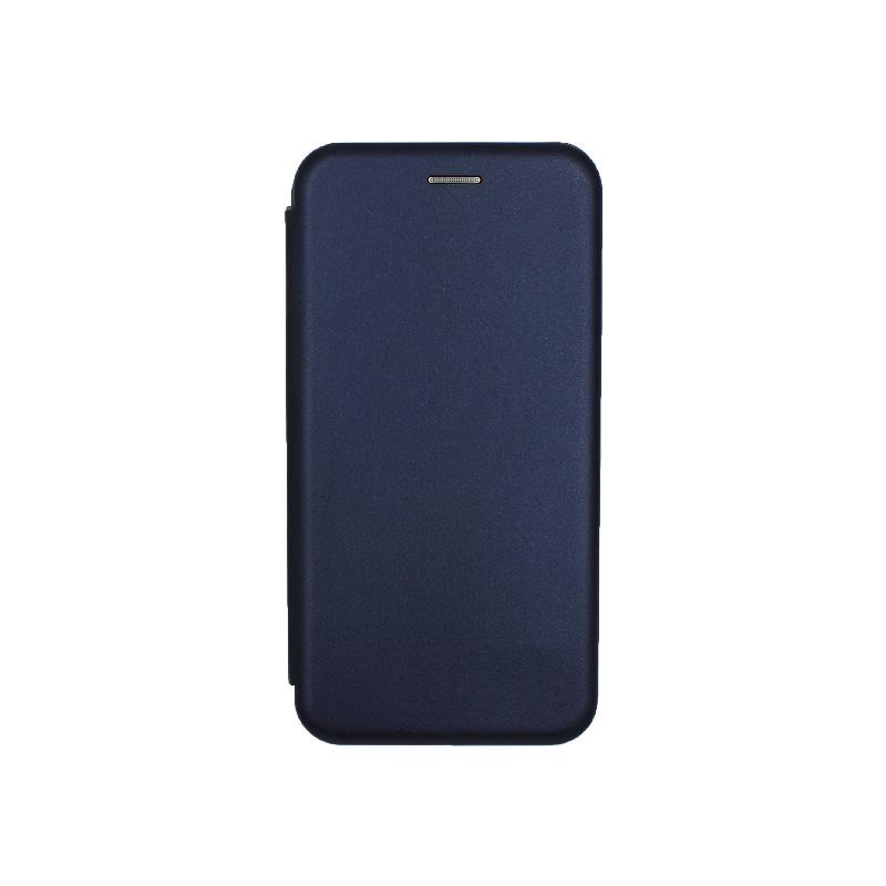 Θήκη Huawei P Smart Plus Πορτοφόλι με Μαγνητικό Κλείσιμο μπλε 1