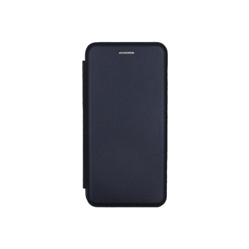 Θήκη Huawei P20 Πορτοφόλι με Μαγνητικό Κλείσιμο μπλε 1