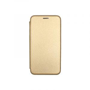 Θήκη Huawei P9 Lite Πορτοφόλι με Μαγνητικό Κλείσιμο χρυσό 1