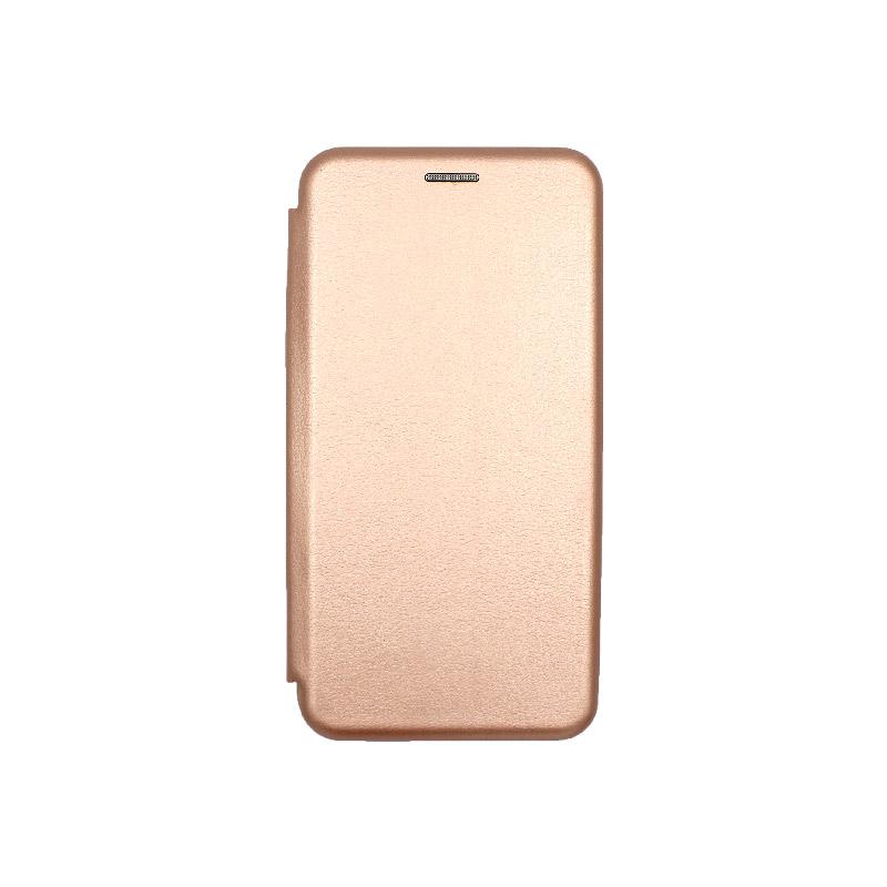 Θήκη Honor 20 / Huawei Nova 5T Πορτοφόλι με Μαγνητικό Κλείσιμο χρυσό 1