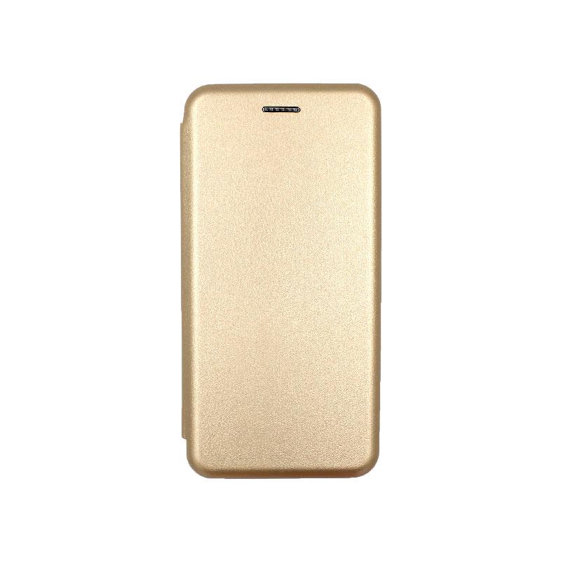 Θήκη Xiaomi A2 Lite Redmi 6X / A2 / Redmi 6 Pro Πορτοφόλι με Μαγνητικό Κλείσιμο χρυσό 1