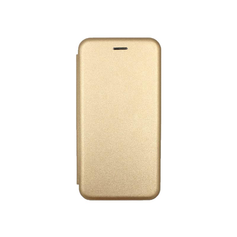 Θήκη Xiaomi Redmi A3 / CC9E Πορτοφόλι με Μαγνητικό Κλείσιμο χρυσό 1
